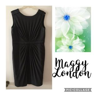 MAGGY LONDON▪️Dark Gray Dress